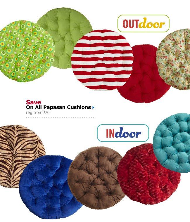 Save On All Papasan Cushions
