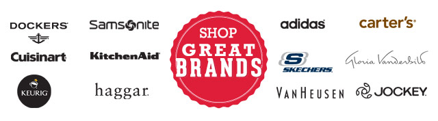 Shop Great Brands!