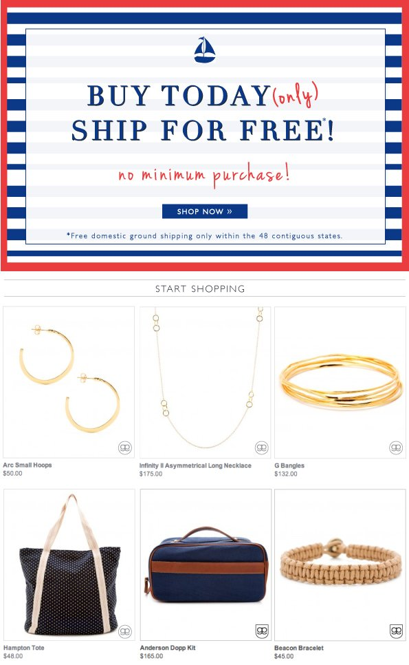 Buy Today | Ship For Free