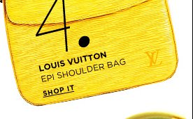 Louis Vuitton Epi Buci Shoulder Bag