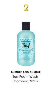 #2 | Bumble and bumble | Surf Foam Wash Shampoo, $24