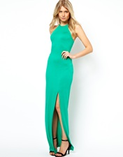 ASOS Digital Diamond Column Maxi Dress