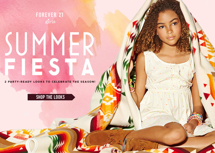 Forever 21 Girls: Shop The California Girl Lookbook! - Shop Now