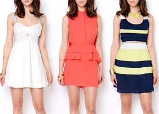 On Trend: Mini Dresses