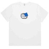 White Clock Print T-Shirt