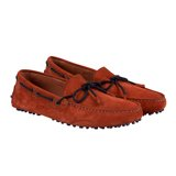 Red Suede Swift Driving Shoes