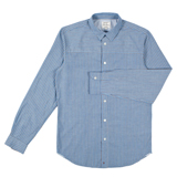 Sky Blue Shadow Stripe Shirt