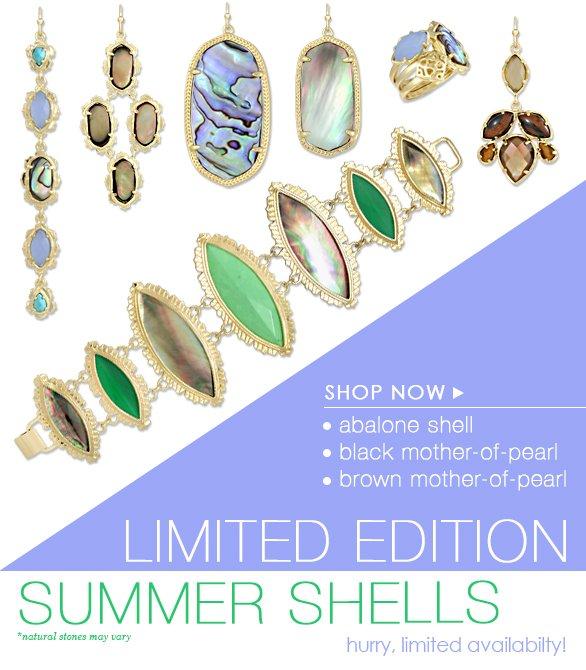 Limited Edition Summer Shells