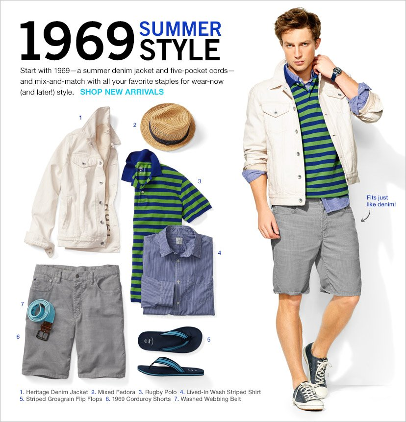 1969 SUMMER STYLE | SHOP NEW ARRIVALS