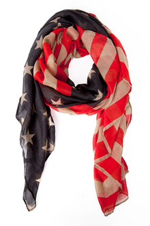 THE AMERICAN FLAG SCARF 14