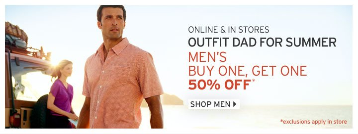 Shop Men's BOGO