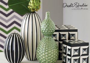 Eye-Catching Accents featuring Dwell Studio by Global Views