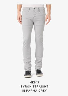 Men's Byron Straight in Parma Grey