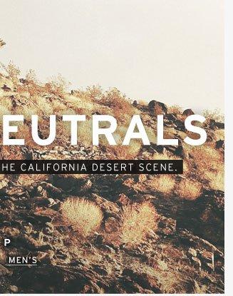 Desert Neutrals - Shop Men's