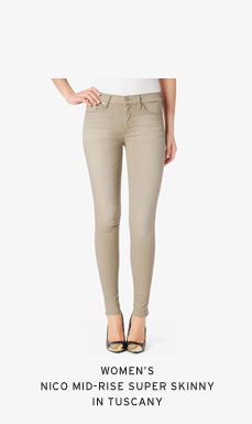 Women's Nico Mid-Rise Super Skinny in Tuscany