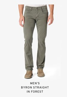 Men's Byron Straight in Forest