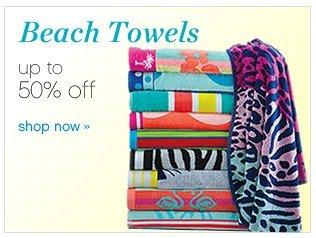 Beach Towels. 50% off. Shop now