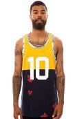 10 Deep The Chaos Runner's Tank Top in Yellow