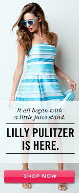 Lilly Pulitzer. Shop Now.
