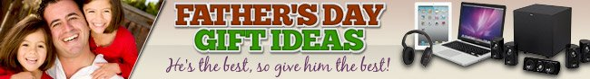 FATHER'S DAY GIFT IDEAS! He's the best, so give him the best!