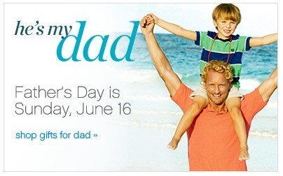 Father's Day is Sunday, June 16. Shop gifts for Dad.