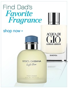 Find Dad's favorite fragrance. shop now.