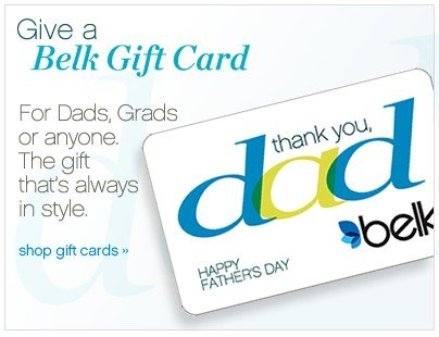 Give a Belk Gift Card. Shop gift cards.