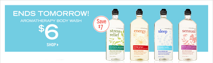 Aromatherapy Body Wash - $6
