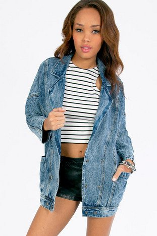 JO ACID DENIM JACKET 53