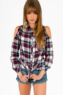 JACK PLAID BUTTON UP SHIRT 40