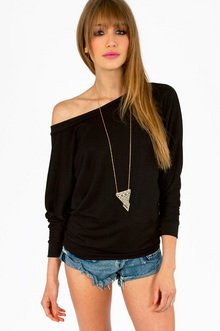 LAYLA OFF SHOULDER SWEATER 25