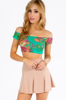 FLORA CROPPED TOP 16