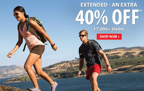 EXTENDED - Top Secret Sale! An Extra 40% OFF 17,000+ Items!