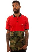 10 Deep The Thrash Split Polo in Red
