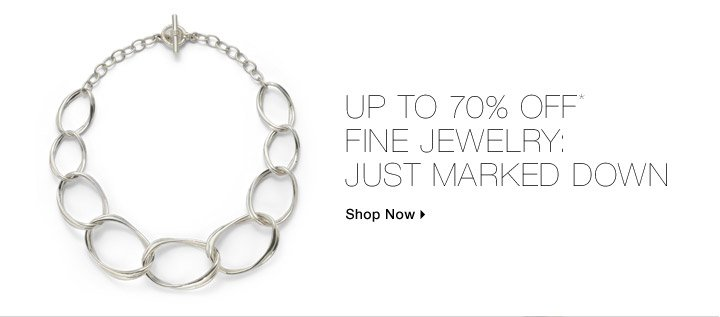 Up To 70% Off Fine Jewelry: Just Marked Down