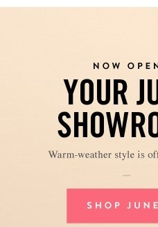 Your June Showroom