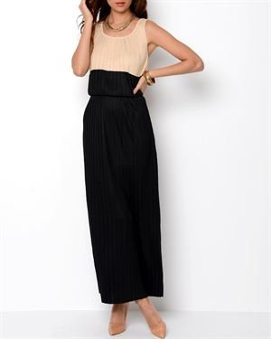 Philosophy Pleated Maxi Dress