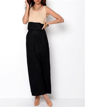 Philosophy Pleated Maxi Dress