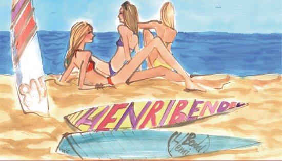 THE HENRI BENDEL BEACH BAR
