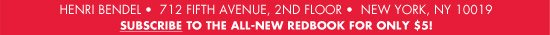 SUBSCRIBE TO THE ALL-NEW REDBOOK