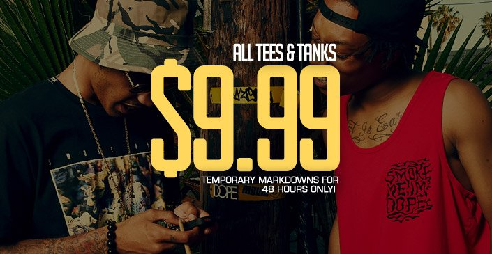 All Tees & Tanks 9.99