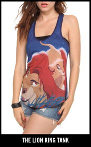 THE LION KING TANK