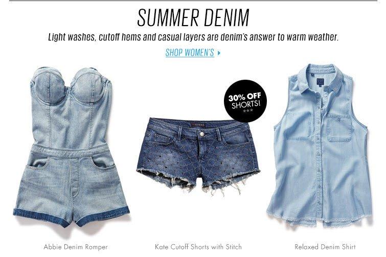 Shop Women's Denim