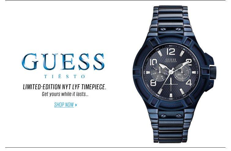 Shop NYT LYF timepiece