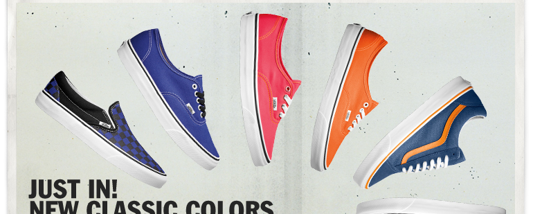 VANS New Classic Colors