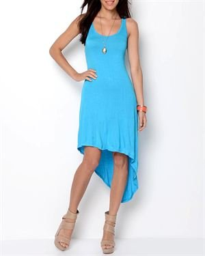 Rock Racerback Hi-Low Dress
