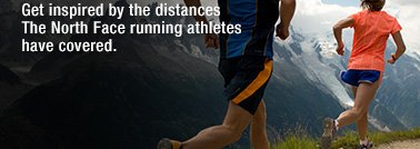 GET INSPIRED BY THE DISTANCES THE NORTHFACE RUNNING ATHLETES HAVE COVERED