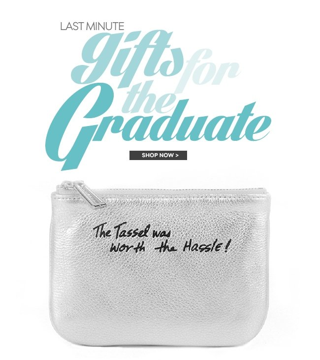 Last Minute Gifts for the Graduate