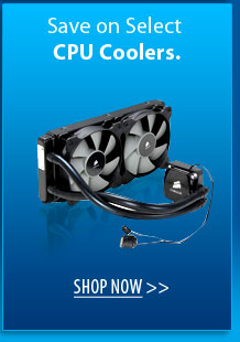 Save on Select CPU Coolers. SHOP NOW