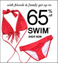 Shop Swim up to 65% OFF!